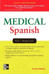 Ebook in inglese Medical Spanish, Fourth Edition Bongiovanni, Gail