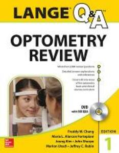 Lange Q&A optometry review: basic and clinical sciences. Con DVD - copertina