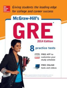 Ebook in inglese McGraw-Hill's GRE, 2014 Edition Dulan, Steven W.