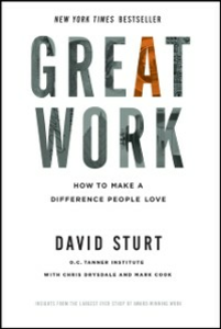 Ebook in inglese Great Work: How to Make a Difference People Love Sturt, David