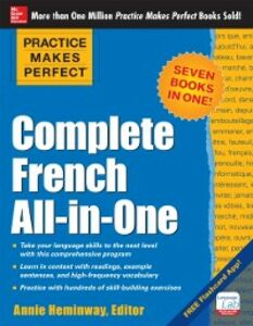 Ebook in inglese Practice Makes Perfect: Complete French All-in-One Heminway, Annie