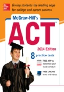 Ebook in inglese McGraw-Hill s ACT 2014 Dulan, Steven W.
