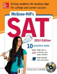 Ebook in inglese McGraw-Hill's SAT, 2014 Edition Anestis, Mark , Black, Christopher