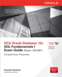 Ebook in inglese OCA Oracle Database 12c SQL Fundamentals I Exam Guide (Exam 1Z0-061) Ramklass, Roopesh