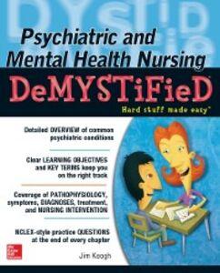 Ebook in inglese Psychiatric and Mental Health Nursing Demystified Keogh, Jim