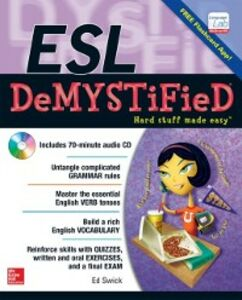 Foto Cover di ESL DeMYSTiFieD, Ebook inglese di Ed Swick, edito da McGraw-Hill Education