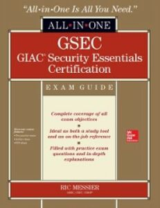 Ebook in inglese GSEC GIAC Security Essentials Certification All-in-One Exam Guide Messier, Ric