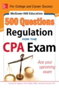 Ebook in inglese McGraw-Hill Education 500 Regulation Questions for the CPA Exam Stefano, Denise M. , Surett, Darrel