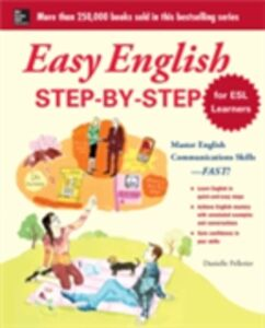 Ebook in inglese Easy English Step-by-Step for ESL Learners Pelletier, Danielle