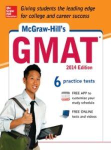 Foto Cover di McGraw-Hill's GMAT, 2014 Edition, Ebook inglese di AA.VV edito da McGraw-Hill Education