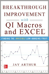 Ebook in inglese Breakthrough Improvement with QI Macros and Excel: Finding the Invisible Low-Hanging Fruit Arthur, Jay