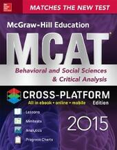 McGraw-Hill Education MCAT Behavioral and Social Sciences & Critical Analysis 2015, Cross-Platform Edition