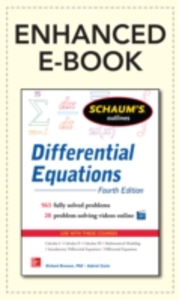 Ebook in inglese Schaum's Outline of Differential Equations, 4th Edition Bronson, Richard , Costa, Gabriel