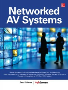 Ebook in inglese Networked Audiovisual Systems Grimes, Brad , International, InfoComm