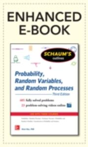 Ebook in inglese Schaum's Outline of Probability, Random Variables, and Random Processes, 3/E (Enhanced Ebook) Hsu, Hwei
