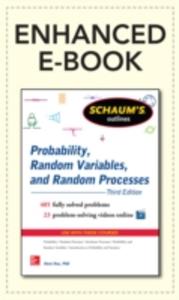 Ebook in inglese Schaum's Outline of Probability, Random Variables, and Random Processes, 3/E (Enhanced Ebook) Hsu, Hwei