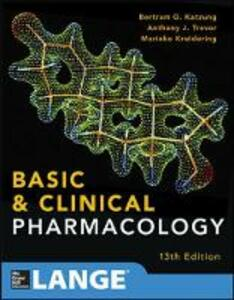 Basic and clinical pharmacology - Bertram G. Katzung,Susan B. Masters,Anthony J. Trevor - copertina