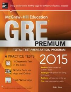 Ebook in inglese McGraw-Hill Education GRE Premium, 2015 Edition Geula, Erfun