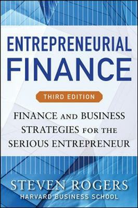 Libro Entrepreneurial finance. Finance and business strategies Rogers