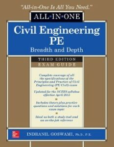 Ebook in inglese Civil Engineering All-In-One PE Exam Guide: Breadth and Depth, Third Edition Goswami, Indranil