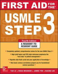 Libro First aid for the USMLE. Step 3