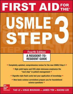 Libro First Aid for the USMLE Step 3