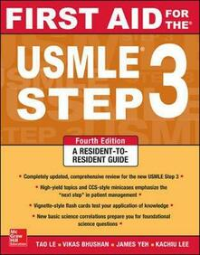 First Aid for the USMLE Step 3 - copertina