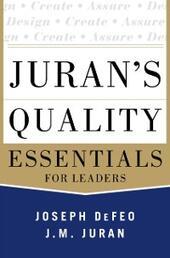 Juran's Quality Essentials