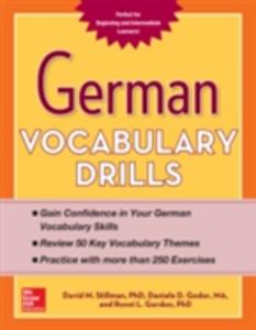 Ebook in inglese German Vocabulary Drills Godor, Daniele , Gordon, Ronni , Stillman, David