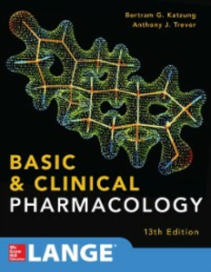 Ebook in inglese Basic and Clinical Pharmacology 13 E Katzung, Bertram , Trevor, Anthony