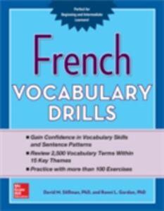 Foto Cover di French Vocabulary Drills, Ebook inglese di Ronni Gordon,David Stillman, edito da McGraw-Hill Education