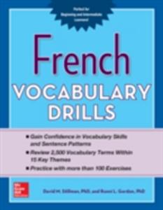 Ebook in inglese French Vocabulary Drills Gordon, Ronni , Stillman, David