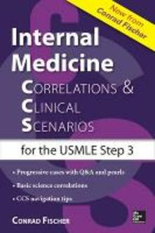 Internal medicine correlations and clinical scenarios - Conrad Fischer - copertina