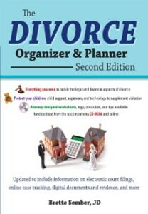 Ebook in inglese Divorce Organizer and Planner, 2nd Edition Sember, Brette