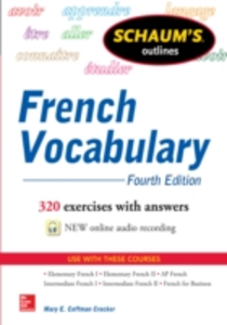 Ebook in inglese Schaum's Outline of French Vocabulary Crocker, Mary