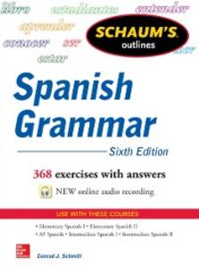 Ebook in inglese Schaum's Outline of Spanish Grammar 6E Schmitt, Conrad
