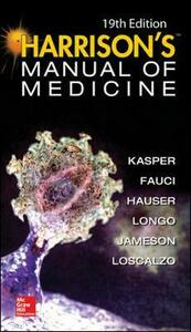 Harrisons manual of medicine - copertina