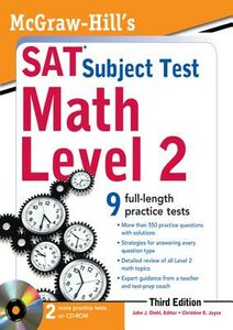 Ebook in inglese McGraw-Hill's SAT Subject Test Math Level 2, 3rd Edition Diehl, John