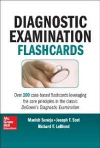 Ebook in inglese DeGowin's Diagnostic Examination Flashcards LeBlond, Richard , Suneja, Manish , Szot, Joseph F.