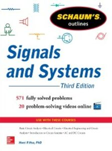Ebook in inglese Schaum s Outline of Signals and Systems 3ed. Hsu, Hwei