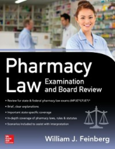 Ebook in inglese Pharmacy Law Examination and Board Review Feinberg, William