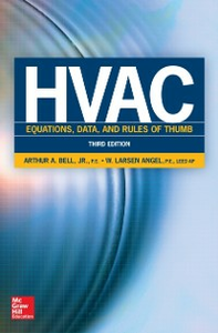 Ebook in inglese HVAC Equations, Data, and Rules of Thumb, Third Edition Angel, W. Larsen , Bell, Arthur