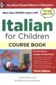 Ebook in inglese ITALIAN FOR CHILDREN, 3E Bruzzone, Catherine