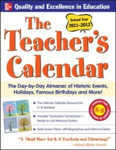 Ebook in inglese Teachers Calendar 2011-2012 Events, Editors of Chase's Calendar of