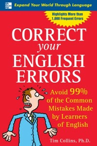 Ebook in inglese Correct Your English Errors Collins, Tim