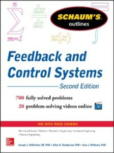 Ebook in inglese Schaum s Outline of Feedback and Control Systems, 3rd Edition Distefano, Joseph