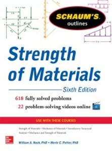 Ebook in inglese Schaum s Outline of Strength of Materials, 6th Edition Nash, William