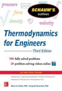 Ebook in inglese Schaum s Outline of Thermodynamics for Engineers, 3rd Edition Potter, Merle , Somerton, Craig W.