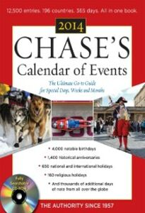 Ebook in inglese Chase's Calendar of Events 2014 Events, Editors of Chase's Calendar of