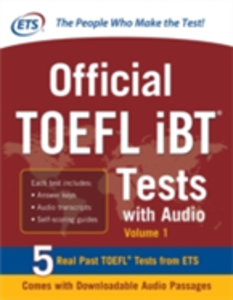 Ebook in inglese Official TOEFL iBT Tests with Audio Service, Educational Testing